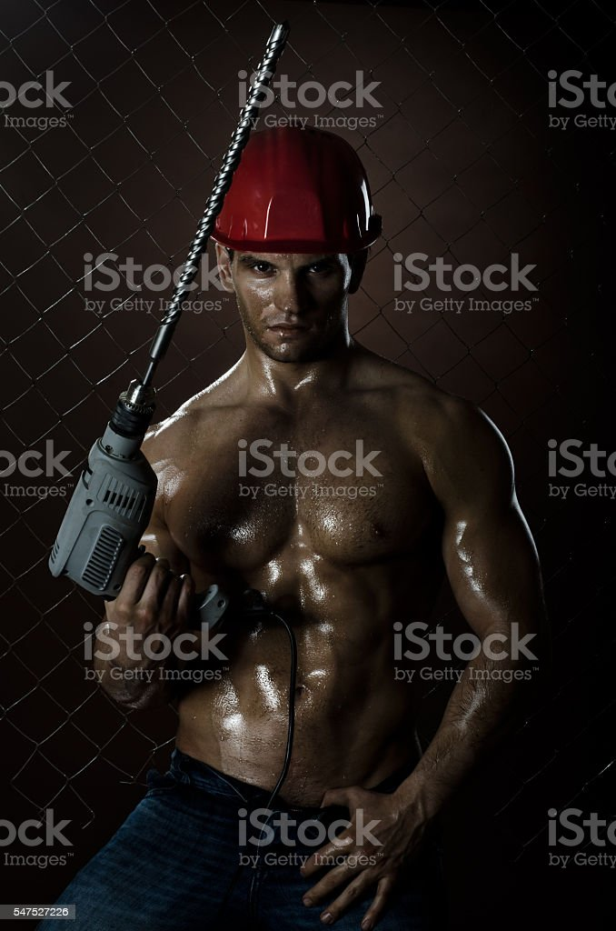 driller stock photo