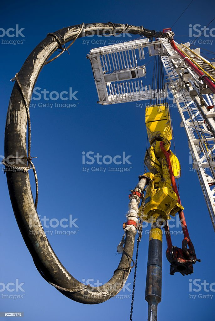Drilling Drive royalty-free stock photo