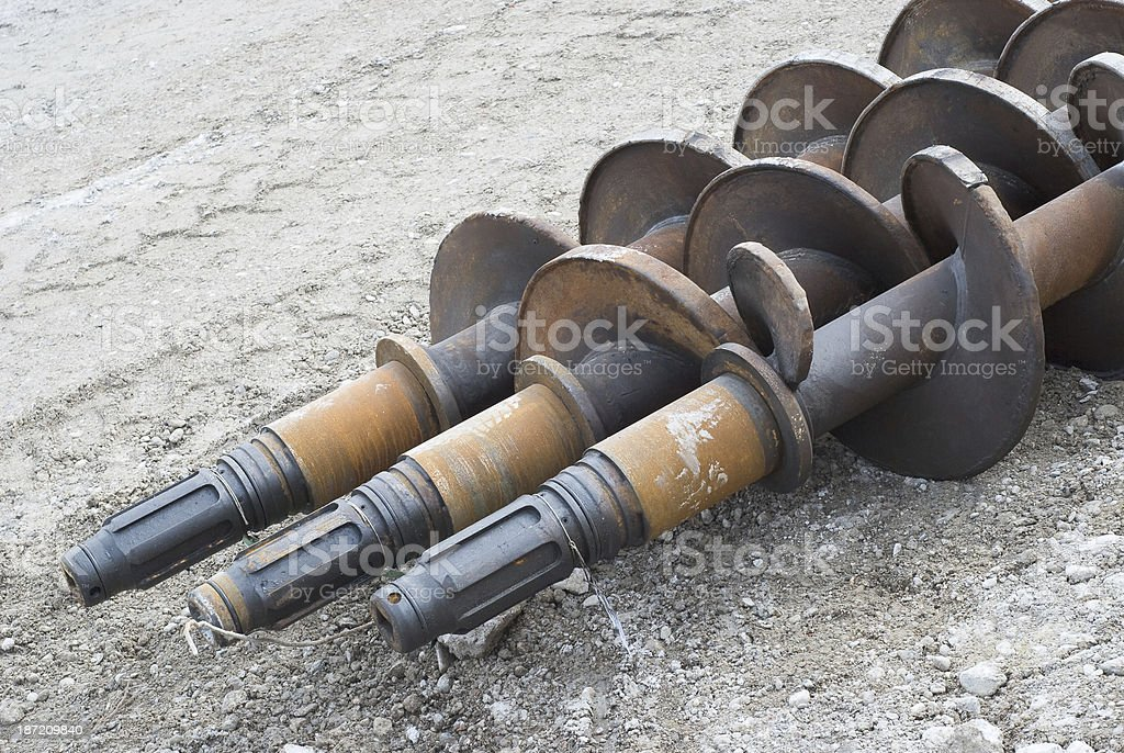 Drilling Equipment royalty-free stock photo