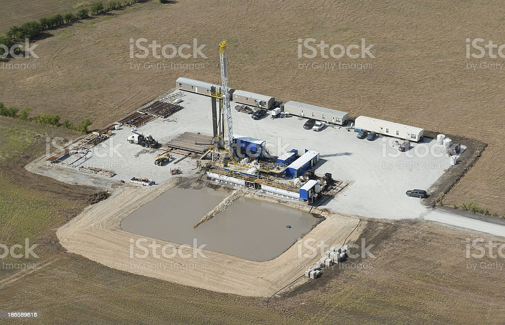Drilling For Independence royalty-free stock photo