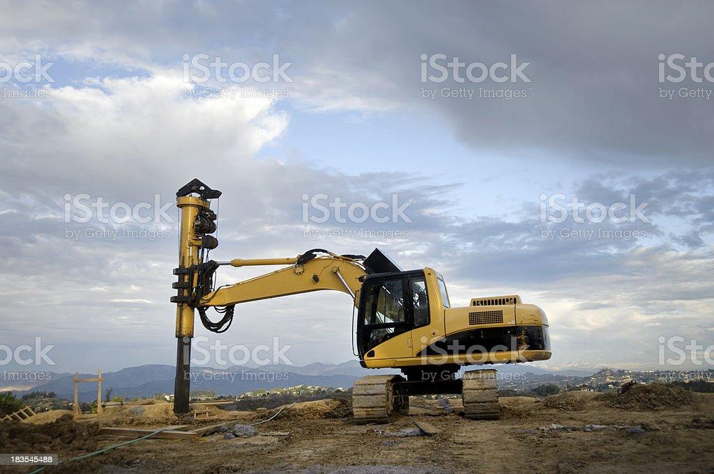 drilling machine royalty-free stock photo