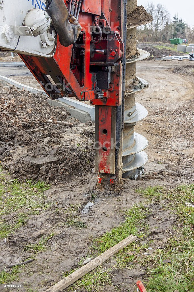 Drilling machine. stock photo