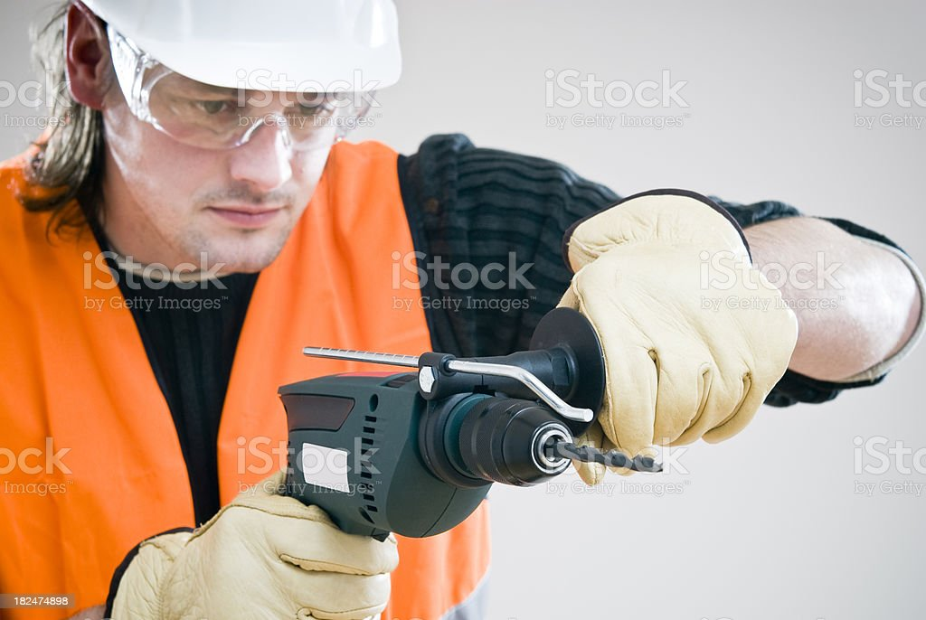 Drilling royalty-free stock photo