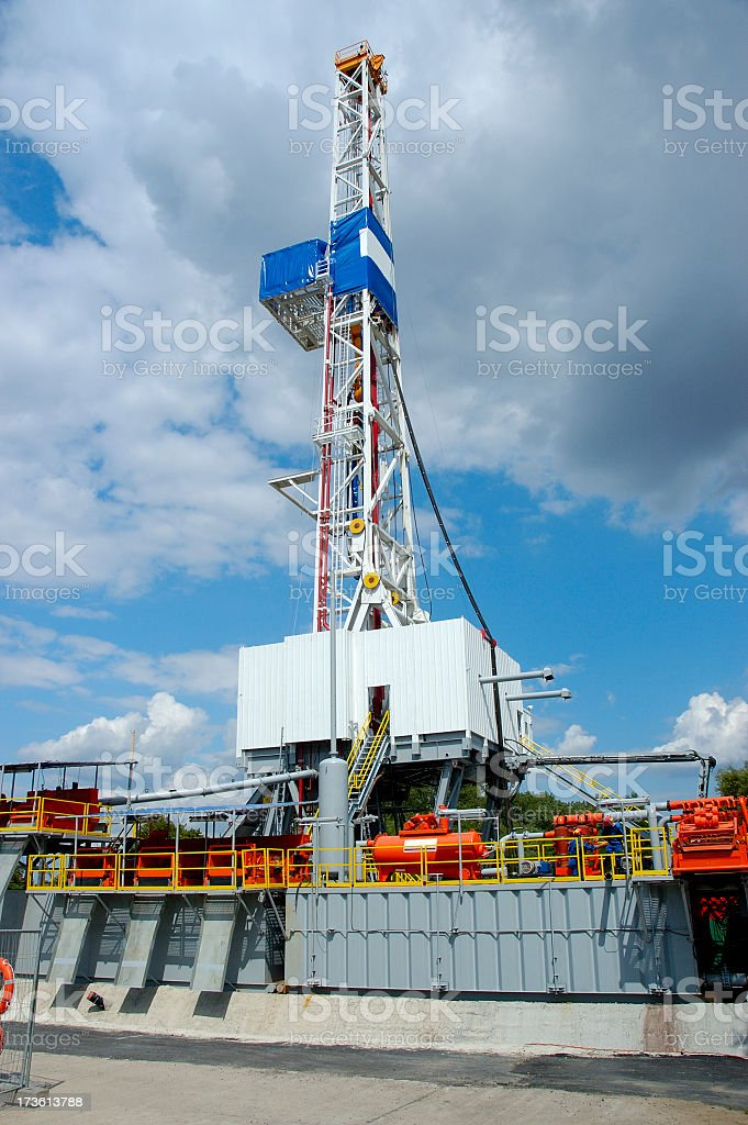 Drilling Rig - Land royalty-free stock photo