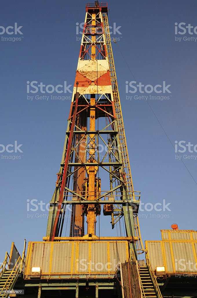 Drilling Rig XL royalty-free stock photo