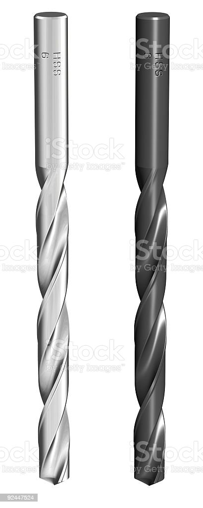 Drills royalty-free stock photo