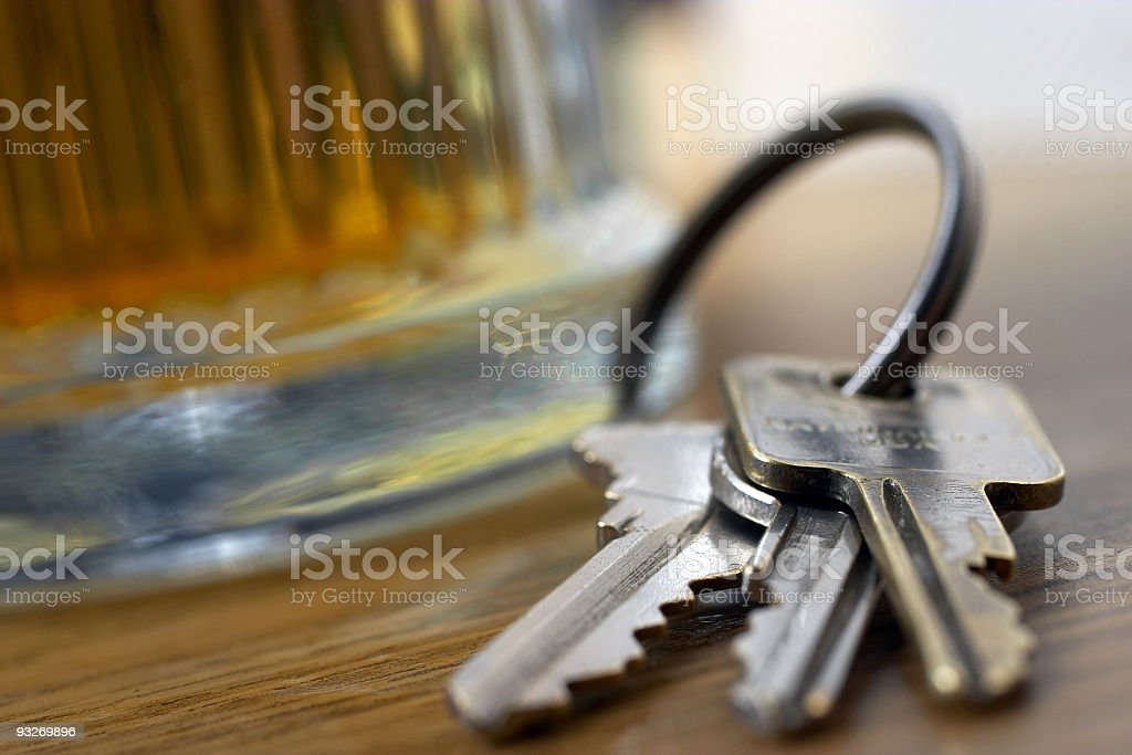 Drink & Drive #4 royalty-free stock photo