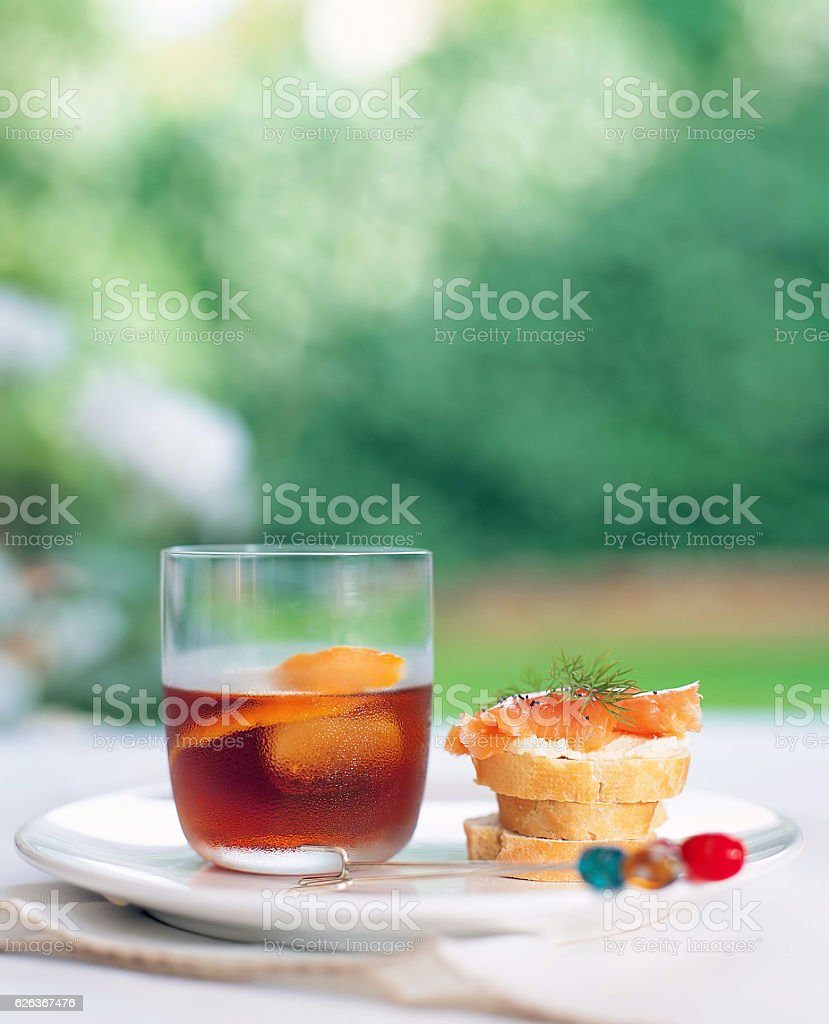 drink and snack stock photo