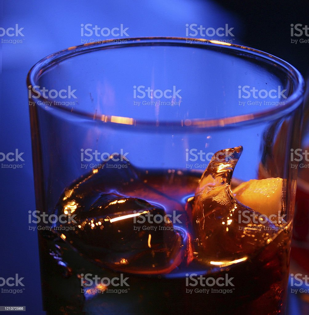Drink at a Bar stock photo