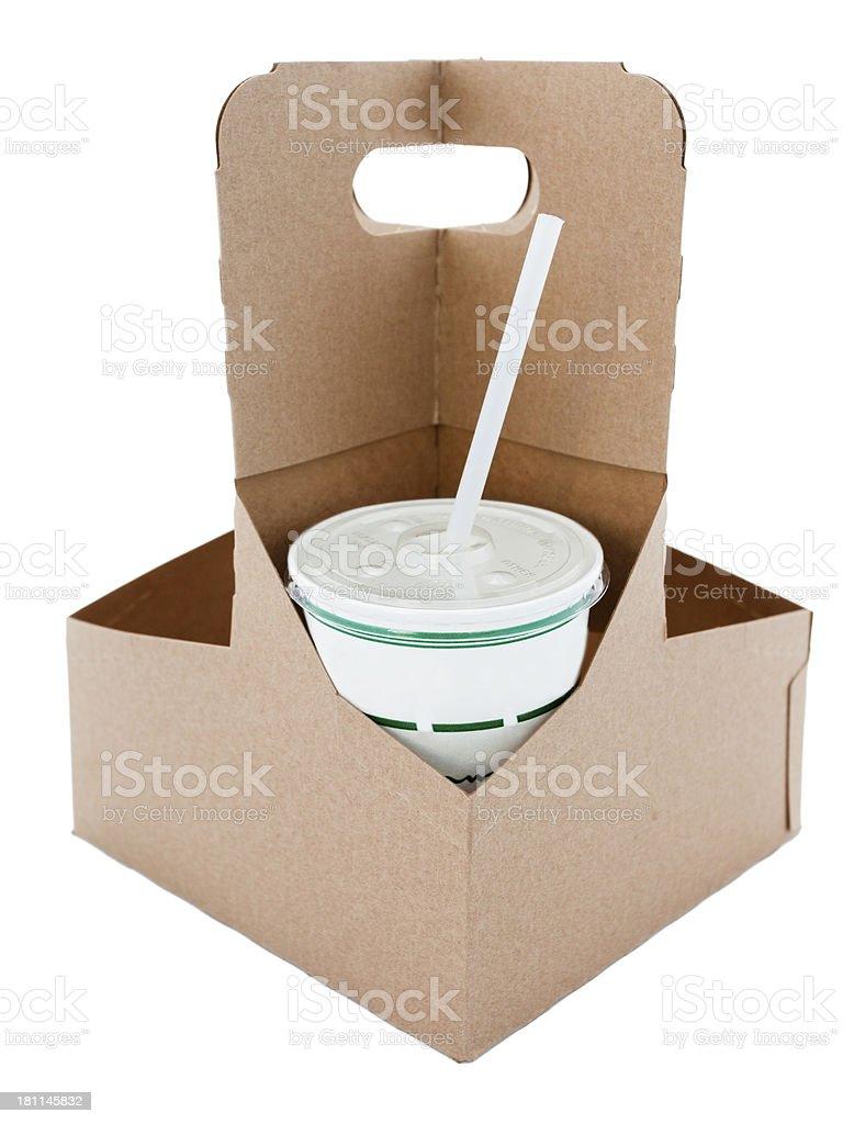 Drink Box royalty-free stock photo