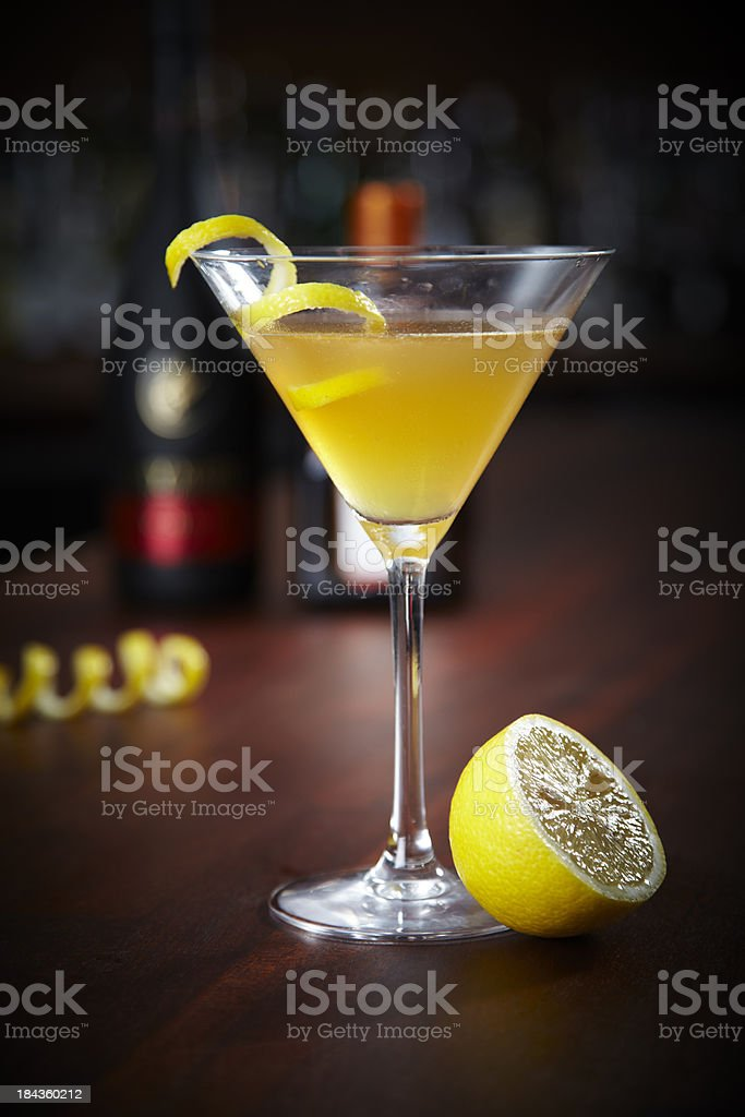 drink called sidecar stock photo