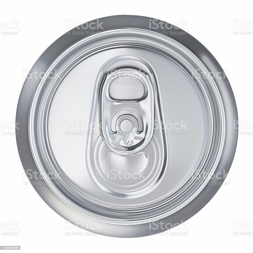 Drink Can Cover-Clipping path stock photo
