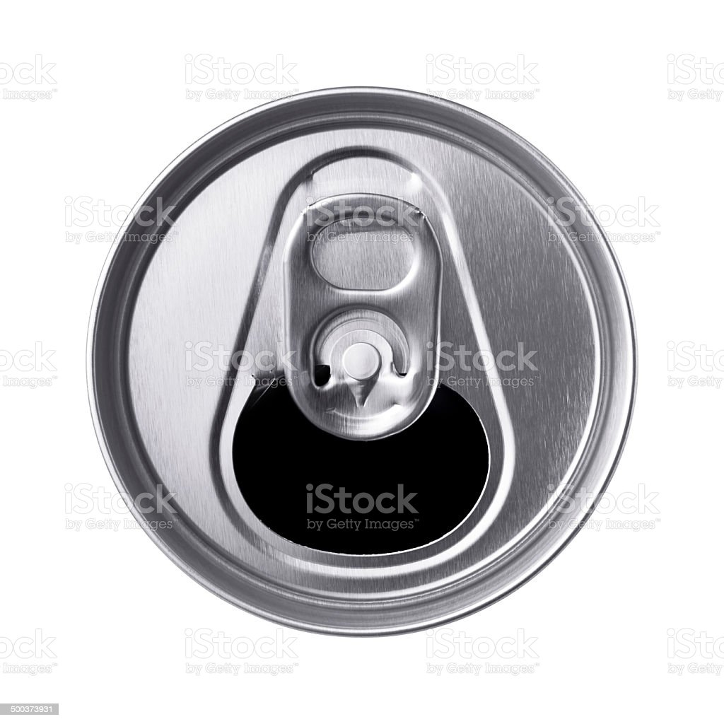 drink can top stock photo