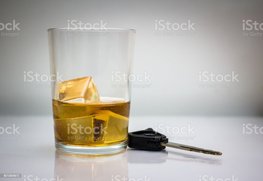 Drink dont drive stock photo