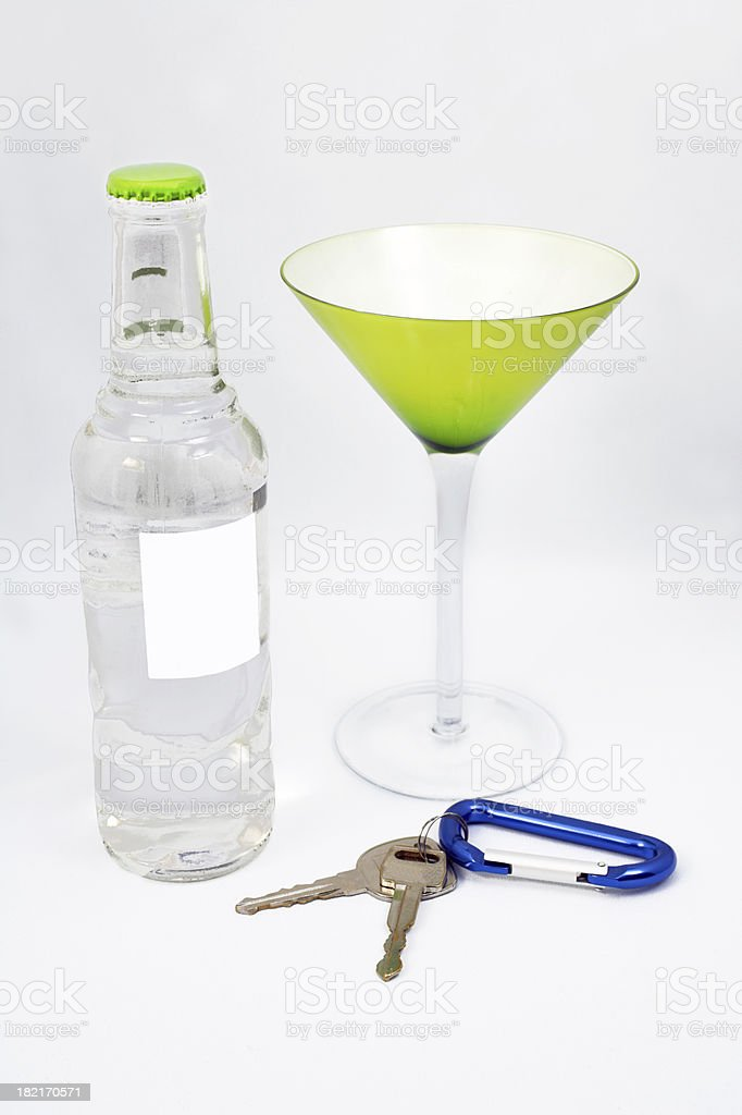 Drink Driver royalty-free stock photo