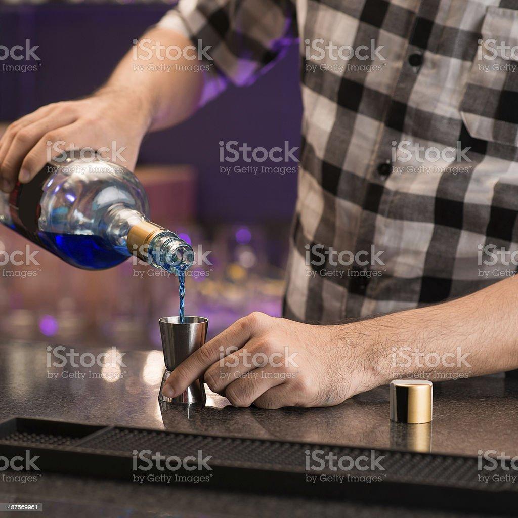 Drink making stock photo
