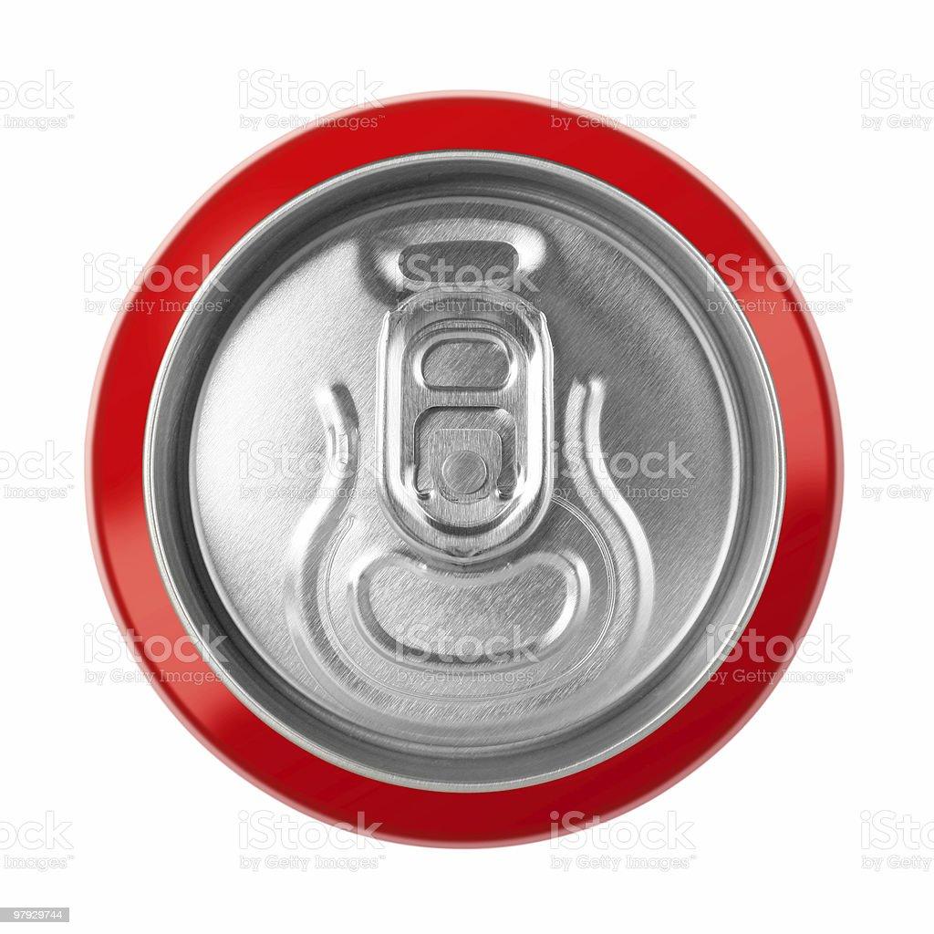 Drink metal bottle stock photo