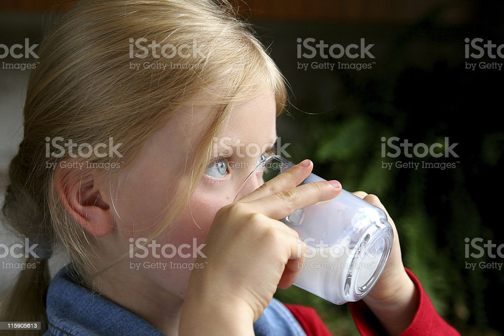 Drink milk! royalty-free stock photo