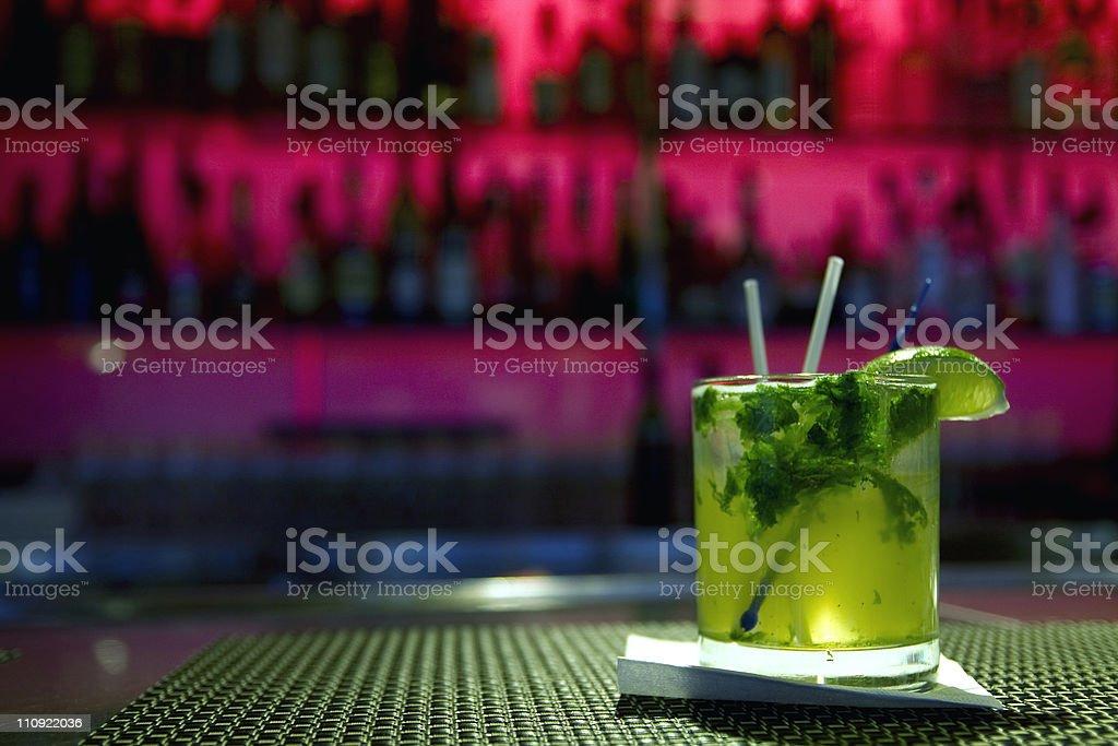 Drink - Mojito stock photo
