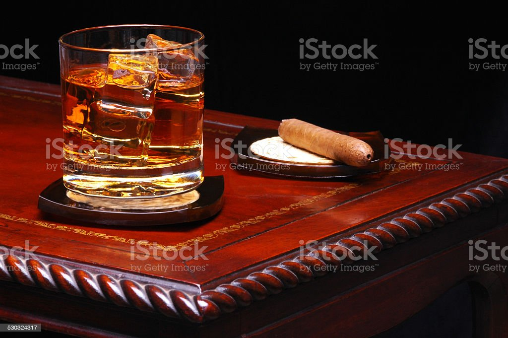 Drink on Table stock photo