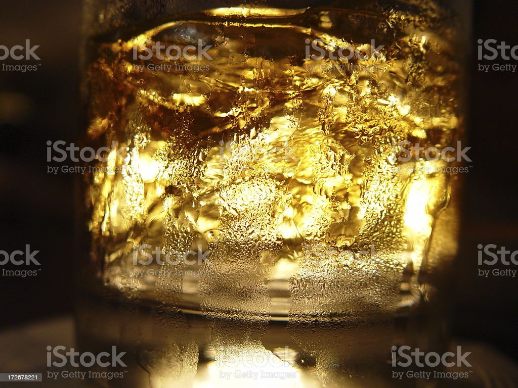Drink on the rocks royalty-free stock photo
