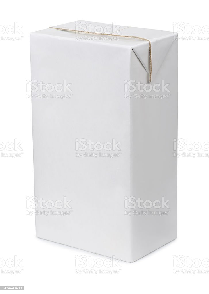 Drink packaging stock photo