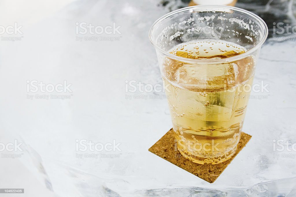 ICE BAR drink royalty-free stock photo