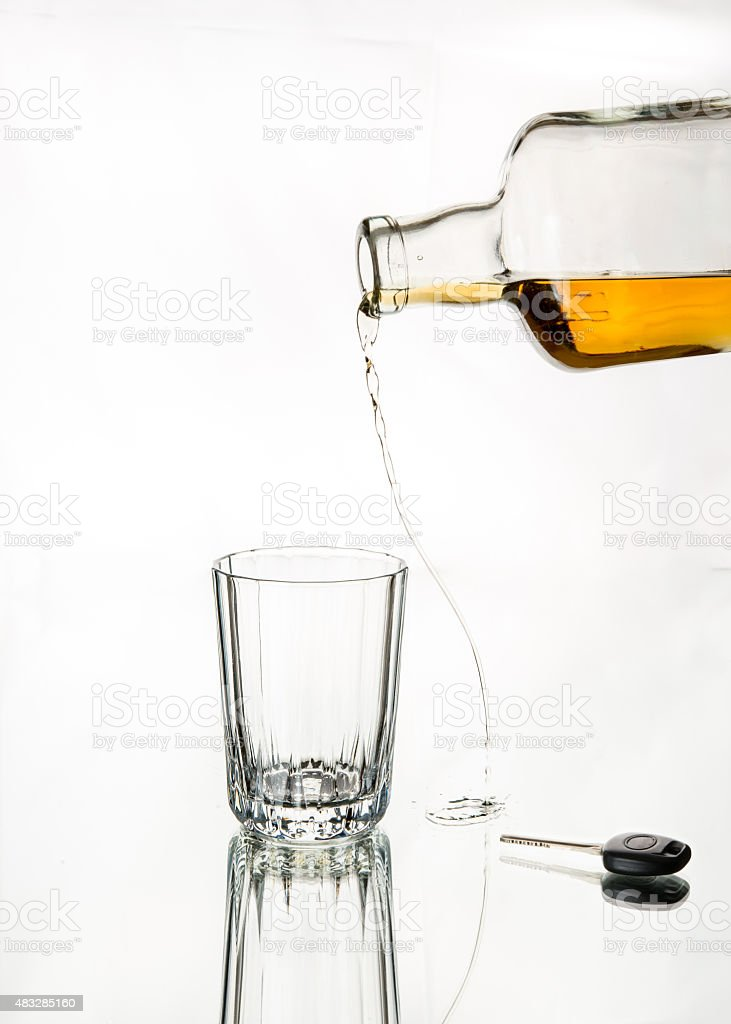 Drink responsibly; Drink aware; Don't drink and drive. stock photo