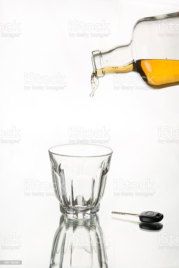 Drink responsibly stock photo