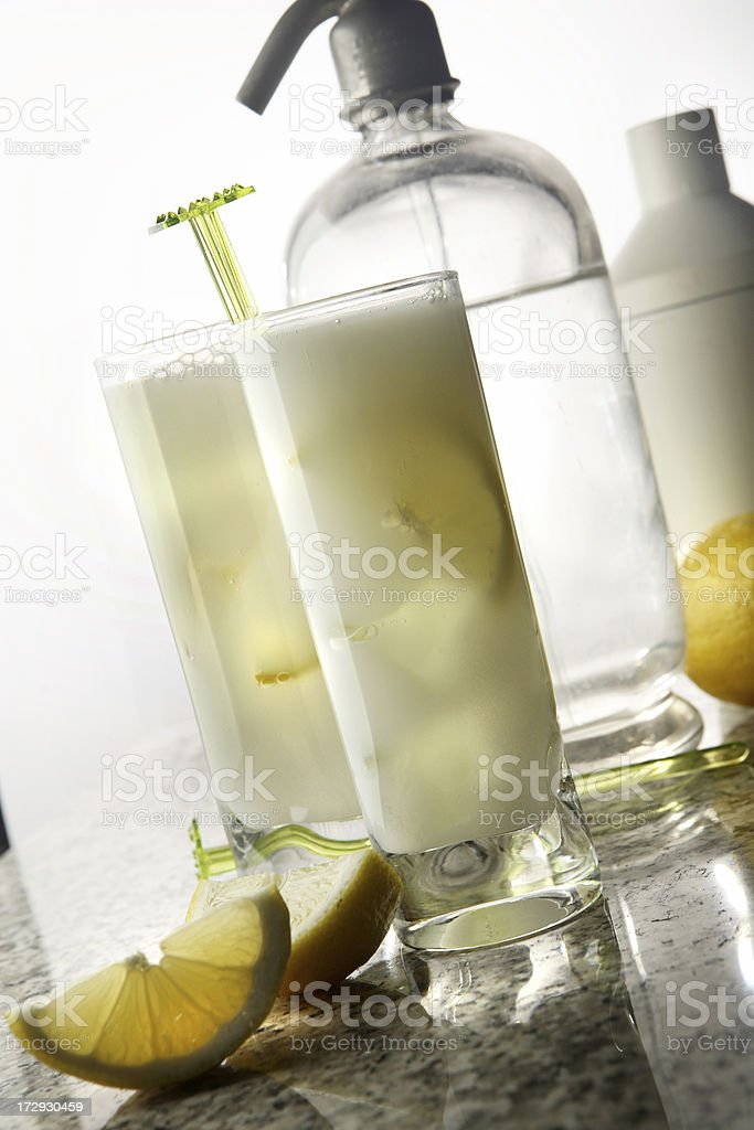 Drink Stills: Tom Collins royalty-free stock photo