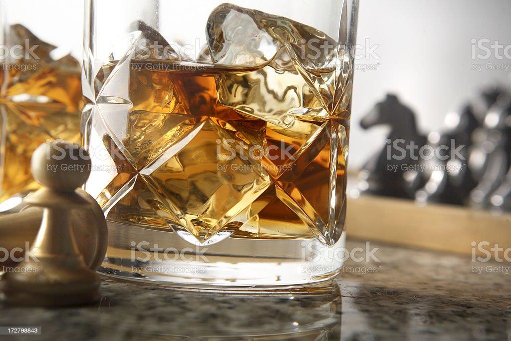 Drink Stills: Whiskey royalty-free stock photo