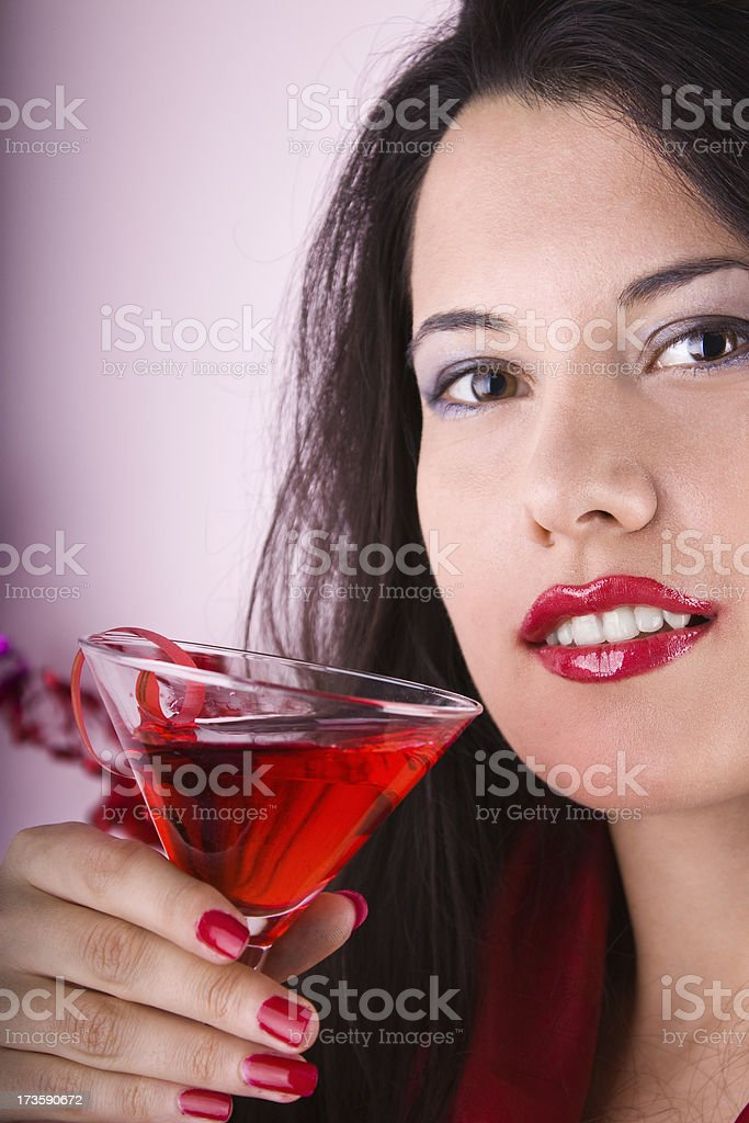 Drink time royalty-free stock photo