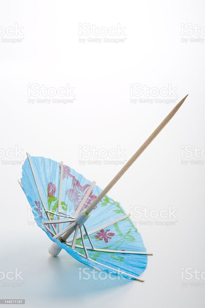 Drink Umbrella royalty-free stock photo