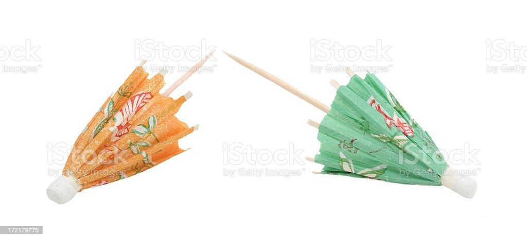 Drink Umbrellas stock photo