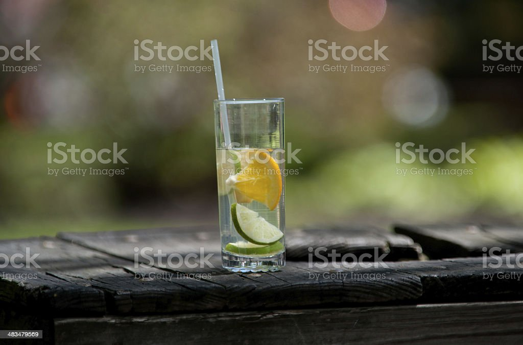Drink up stock photo
