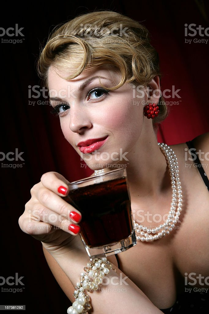 Drink Vertical royalty-free stock photo