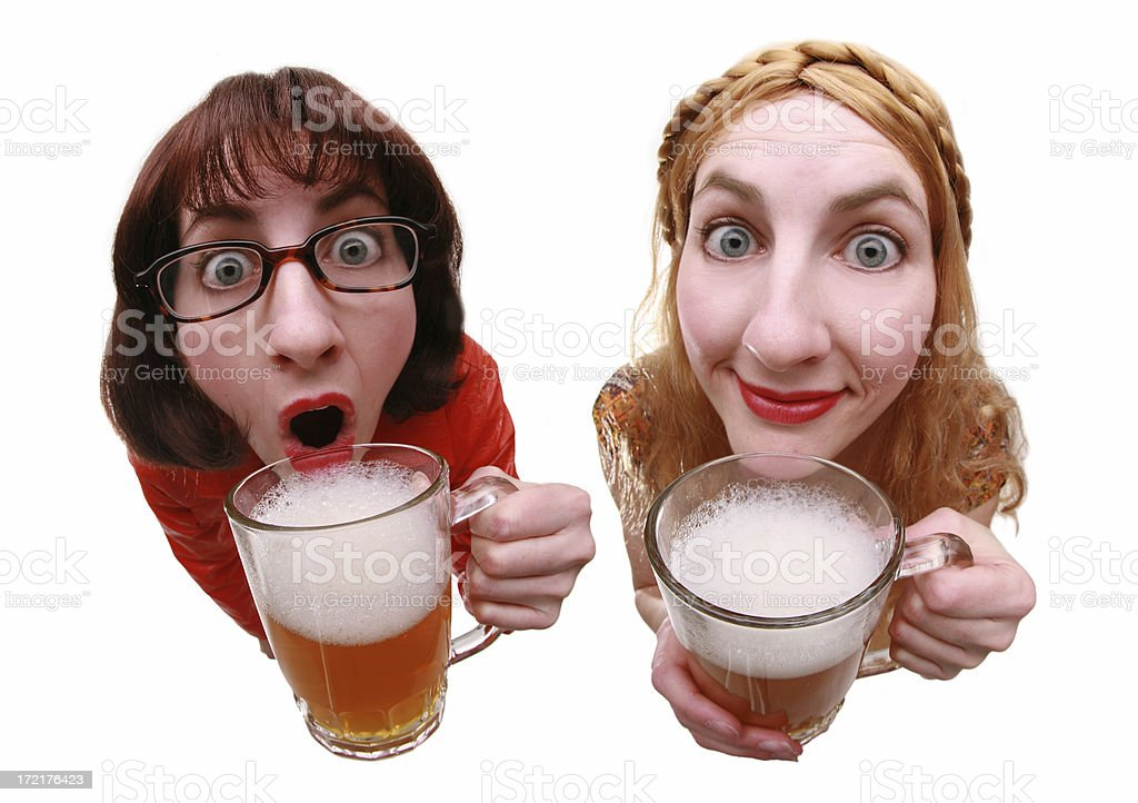 Drinking Buddies royalty-free stock photo