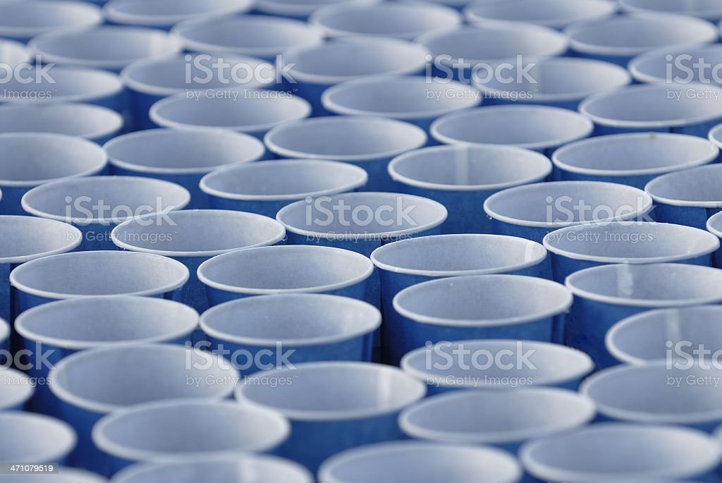 Drinking cups royalty-free stock photo