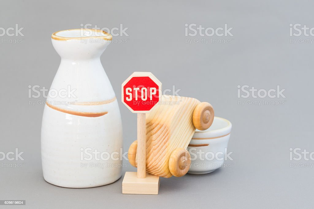 Drinking driving stock photo