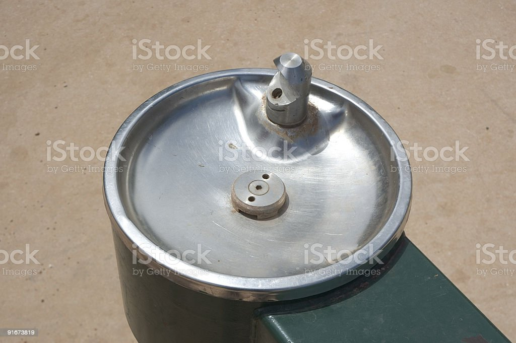 Drinking fountain royalty-free stock photo