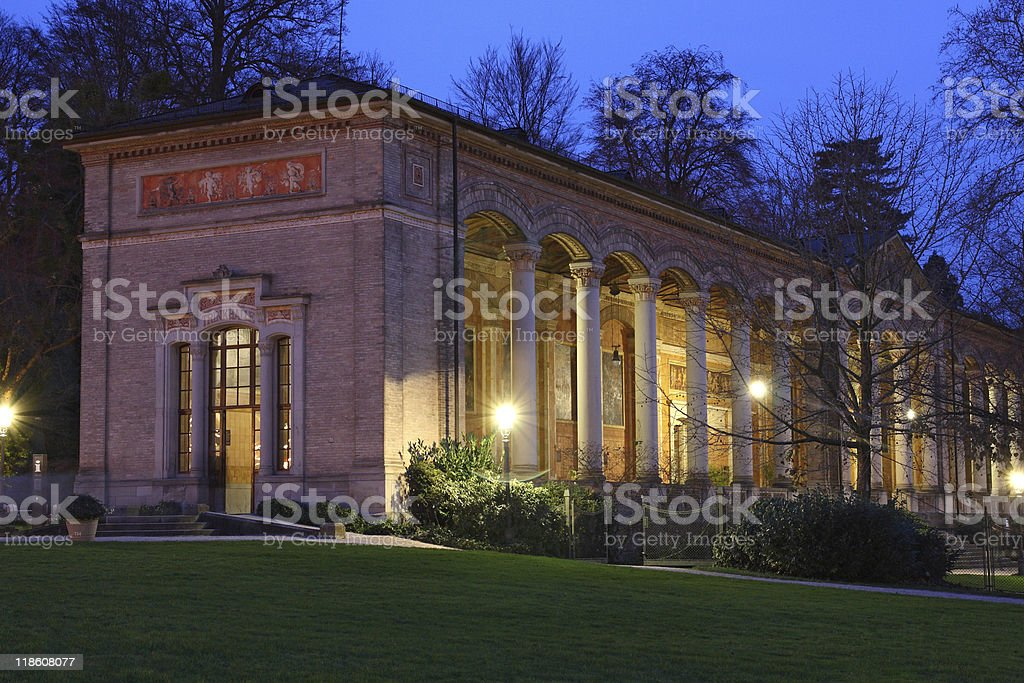 Trinkhalle in Baden-Baden / Germany stock photo