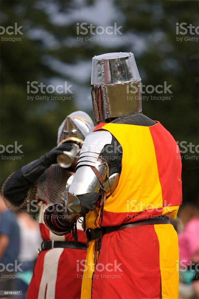 Drinking on the job ? royalty-free stock photo