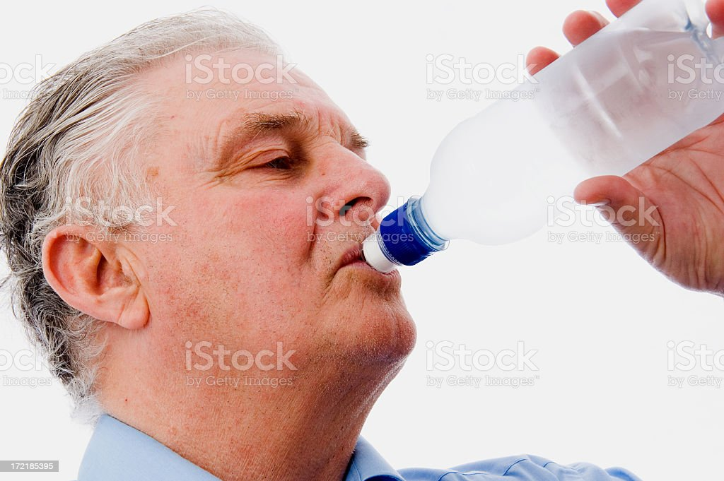 Drinking royalty-free stock photo