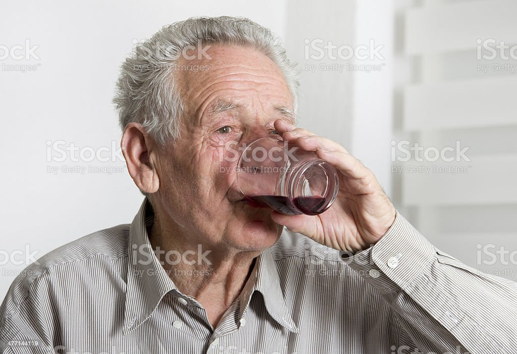 Drinking stock photo
