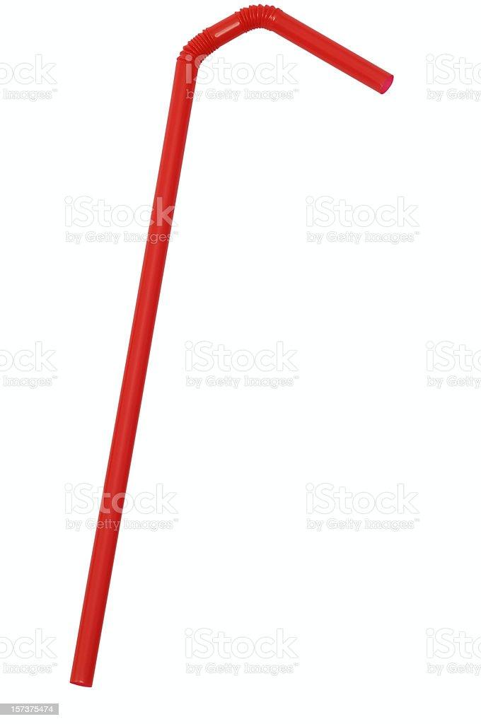 Drinking straw stock photo