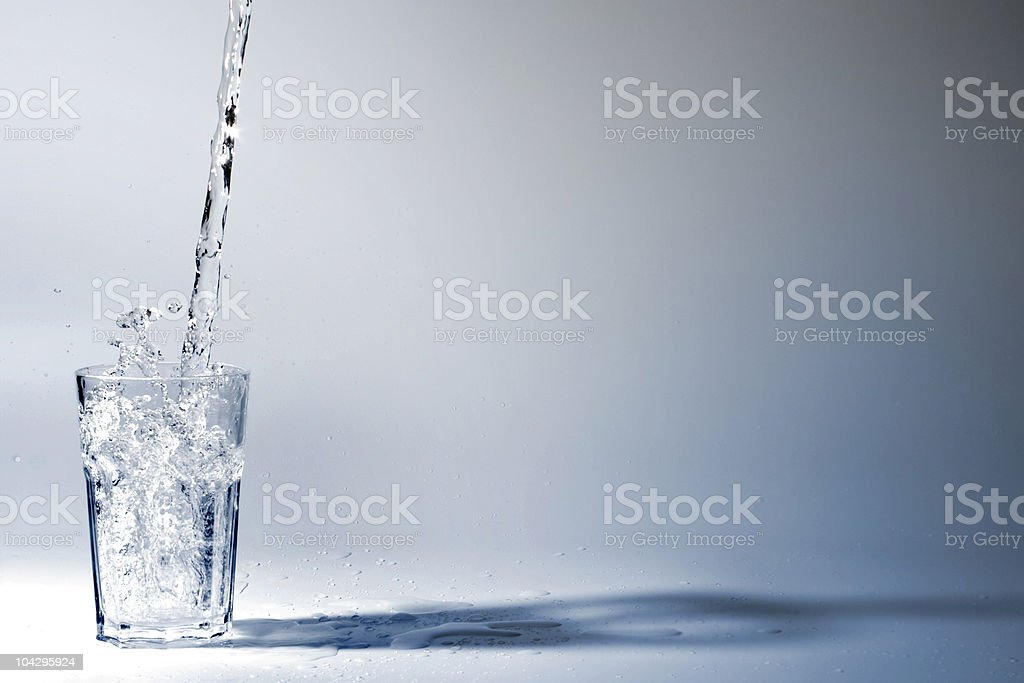 Drinking Water Lizenzfreies stock-foto