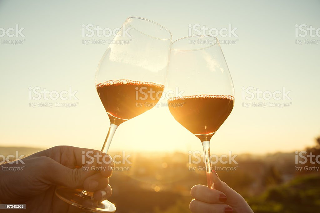 Drinks And Clinks stock photo