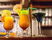 Drinks and stimulants