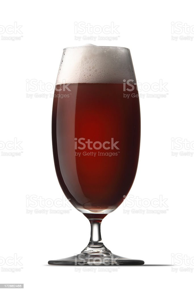 Drinks: Beer Dark royalty-free stock photo