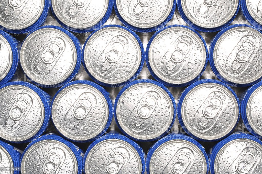 Drinks cans royalty-free stock photo